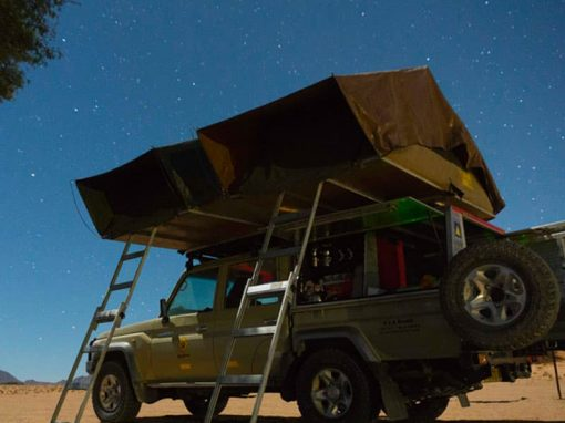 Namibia Guided 4×4 Self Drive Camping Safari