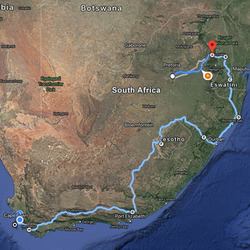 Affordable South Africa Tour